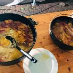 Bierhähnchen mit Kartoffelgratin